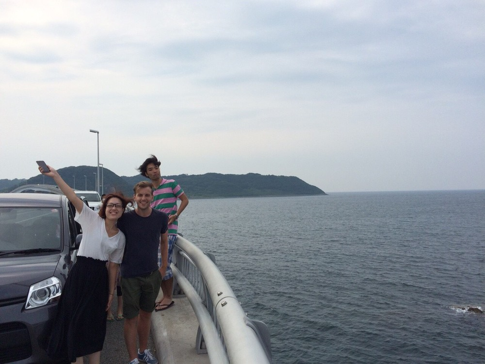 On our way back to Hiroshima from Tsunoshima