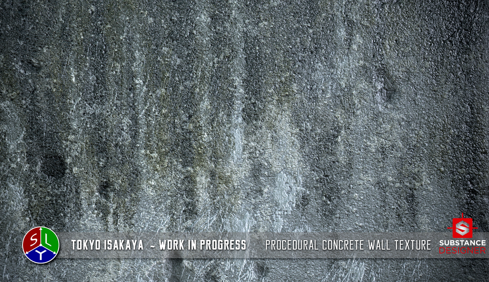 Procedural Concrete Wall Texture