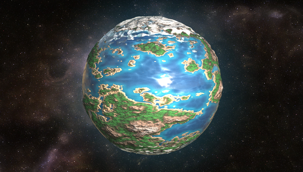 Planet Generator: High Resolution Render