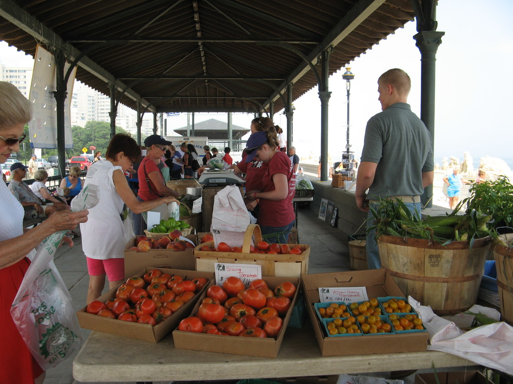 The new Revere Farmers' Market will run through October. Market Hours: Fridays 2-6:30pm.