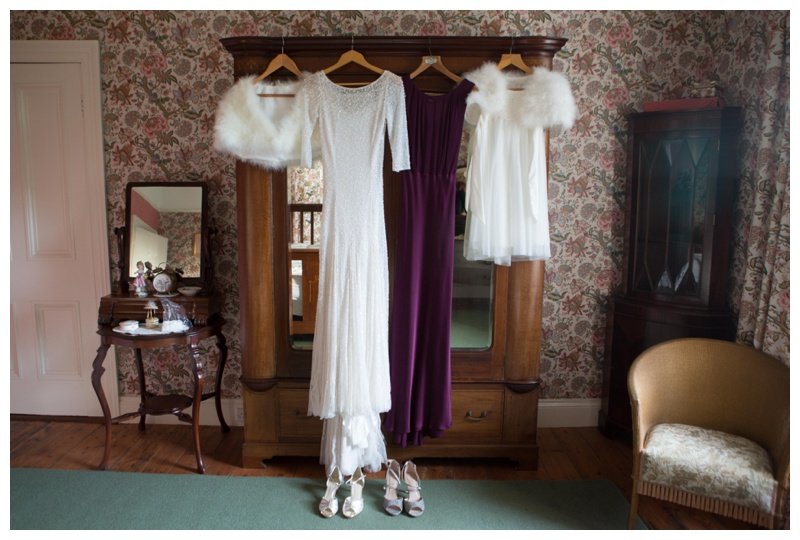 Anne's wedding dress was so elegant. Simply stunning: Eliza Jane Howell  from Logans Bridal, Cloughmills.