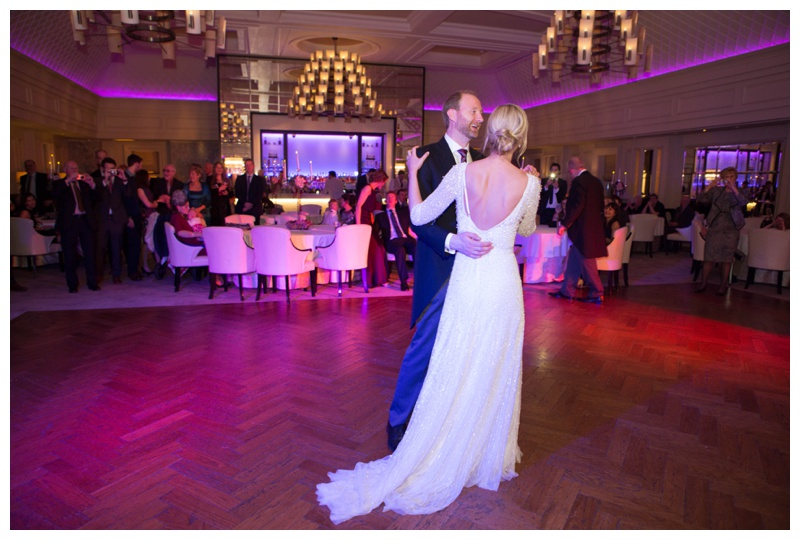 Anne and Neil's first dance. I'm in love with your dress!