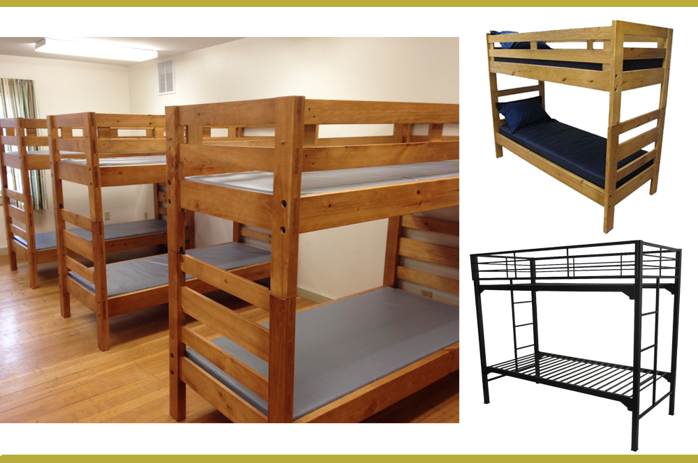 Wood Or Metal Which Bunk Is Right For Your Camp Camp Business