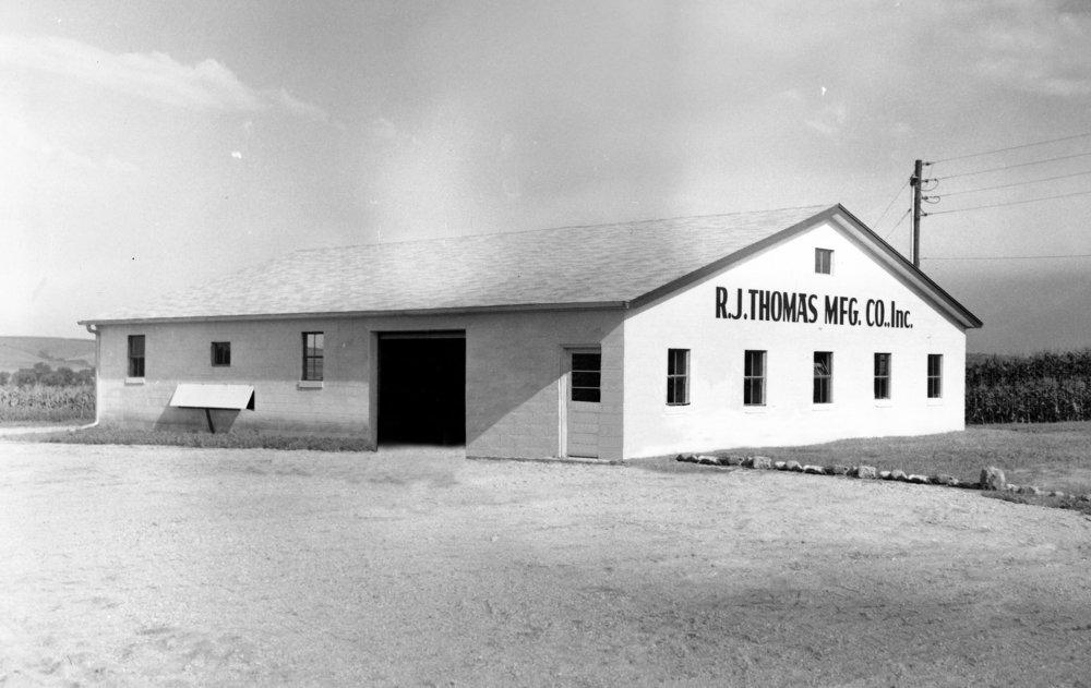 The original building in 1959.