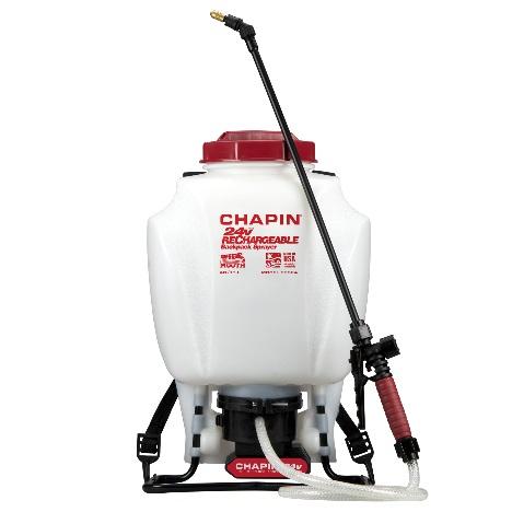 63924 24v Battery Backpack Sprayer     https://chapinmfg.com/Product/slug/chapin-63924-backpack-sprayer