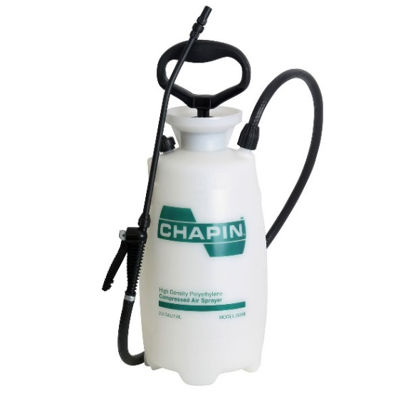 2609E 2 gal Janitorial/Cleaning Sprayer    https://chapinmfg.com/Product/slug/chapin-2609e-2-gallon-industrial-janitorial-sanitation-poly-sprayer