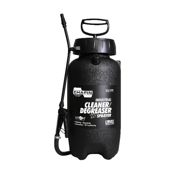 22350XP 2 gal Industrial Viton Cleaner/Degreaser    https://chapinmfg.com/Product/slug/chapin-22350xp-2-gallon-industrial-viton-cleaner-degreaser-sprayer