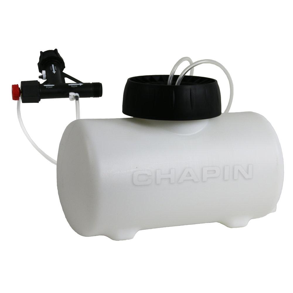 4720 Two Gallon In-Line Auto-Mix Fertilizer Injector System    https://chapinmfg.com/Product/slug/Chapin-4720-HydroFeed-2-Gallon-Fertilizer-Injector-System