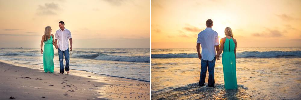 Lori Wilson Park Cocoa Beach Sunrise Engagement Session Mint Green dress- Bri 2.jpg