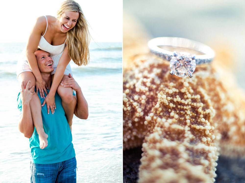 Lori Wilson Park Cocoa Beach Sunrise Engagement Session Mint Green dress- Bri 11.jpg