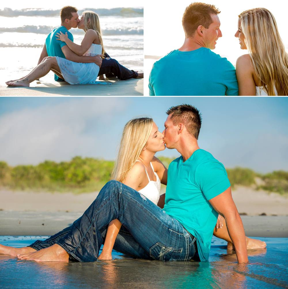 Lori Wilson Park Cocoa Beach Sunrise Engagement Session Mint Green dress- Bri 14.jpg