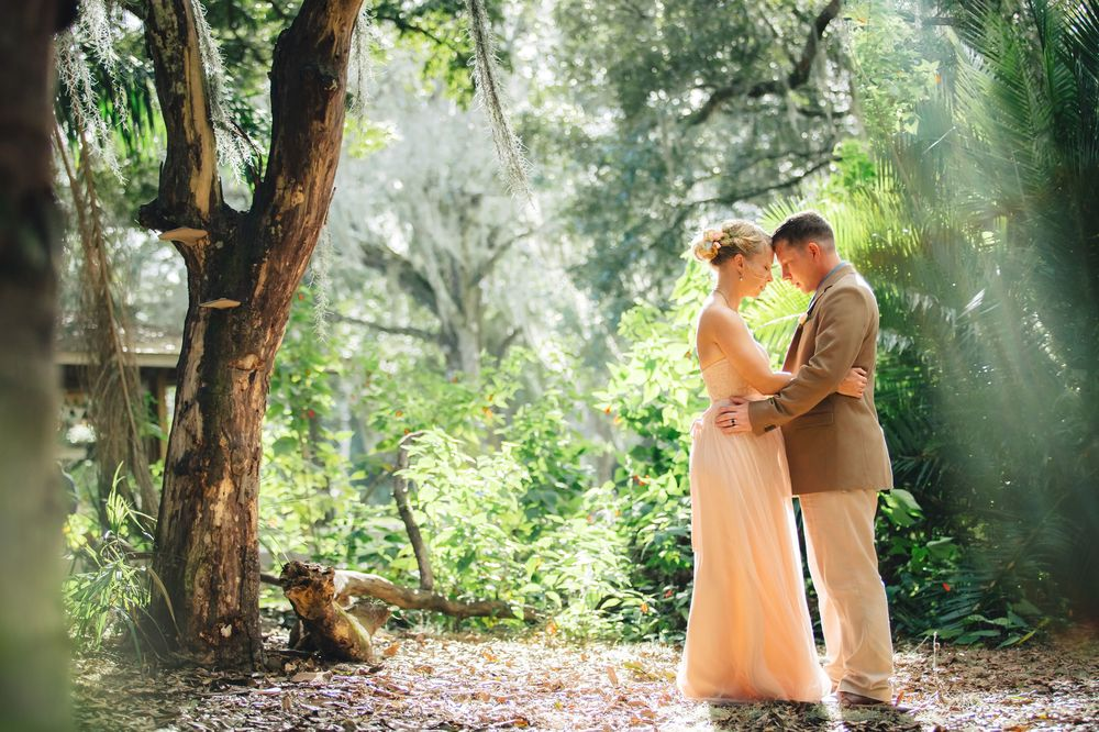 Dreamy Orlando Wedding Photos with Forest Sunbeams.jpg