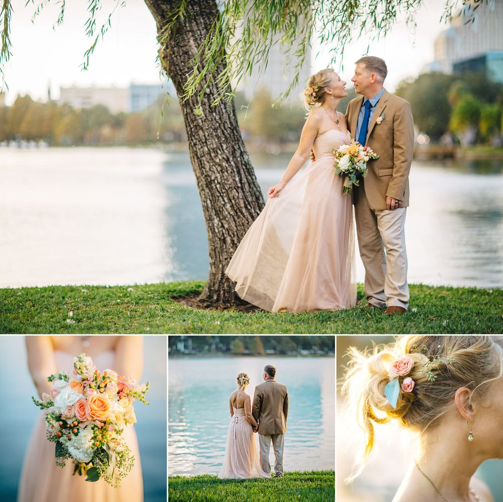 Romantic Orlando Wedding Photos at Lake Eola in BHLDN Gown ShainaDeCiryan.com 34.jpg