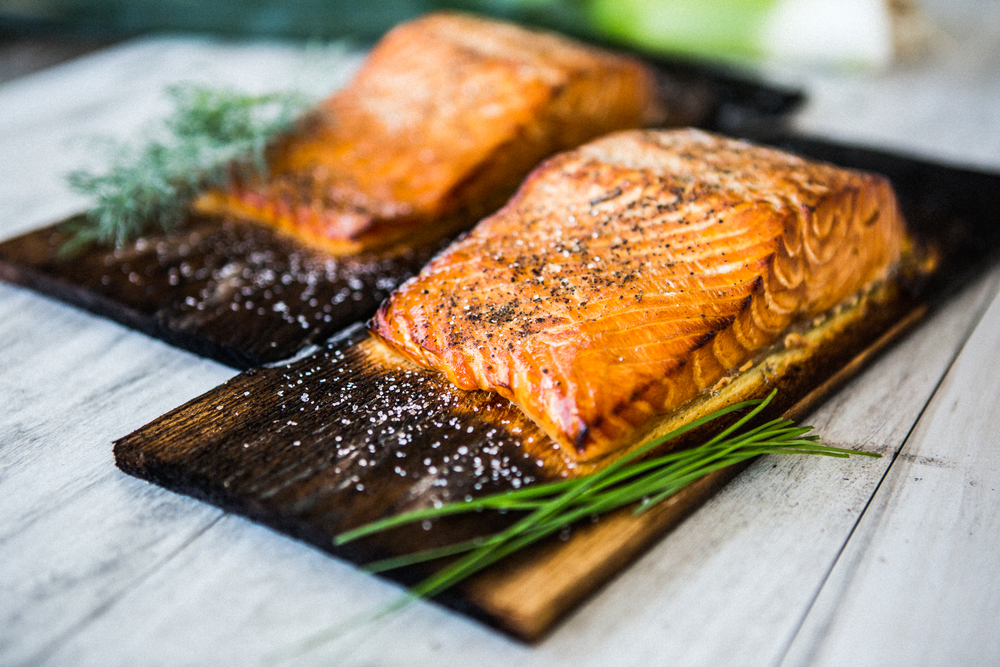 Experivida Food cedar Planked salmon grilled avocado organic vegetables cooking space girl-1754.jpg