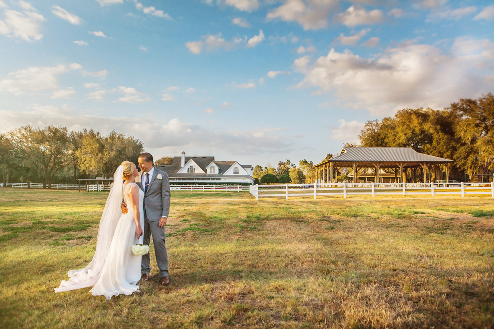 Claire & Sean Bramble Tree Estate Wedding horse ranch sunset.jpg