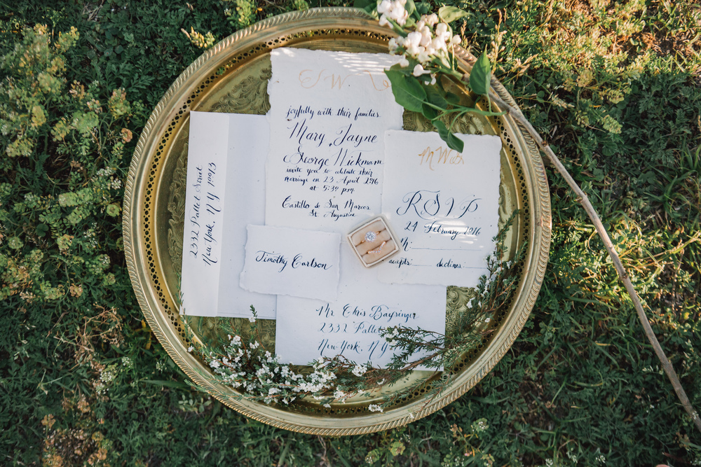 St. Augustine fine art wedding castillo de san marco floral wedding photographer shaina deciryan 20.jpg