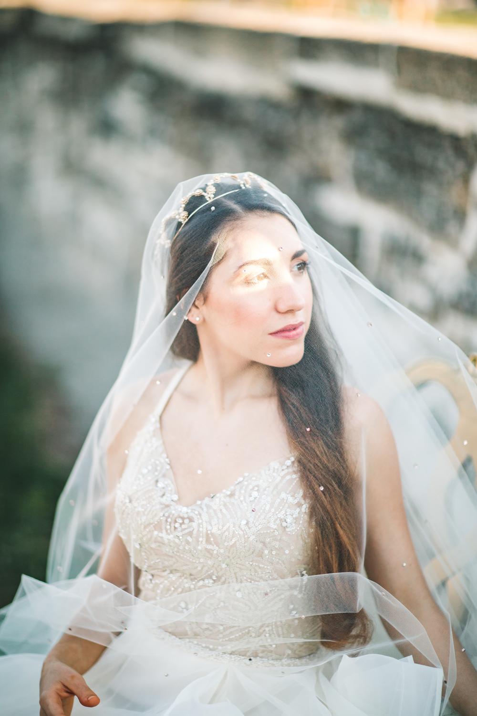 St. Augustine fine art wedding castillo de san marco floral wedding photographer shaina deciryan 38.jpg