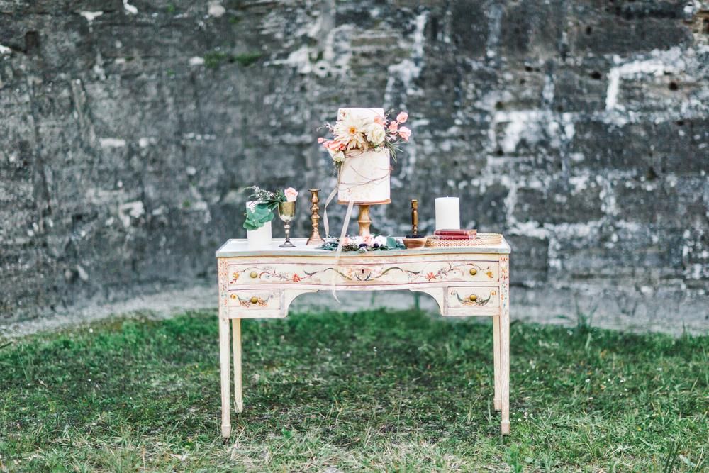St. Augustine fine art wedding castillo de san marco floral wedding photographer shaina deciryan 59.jpg