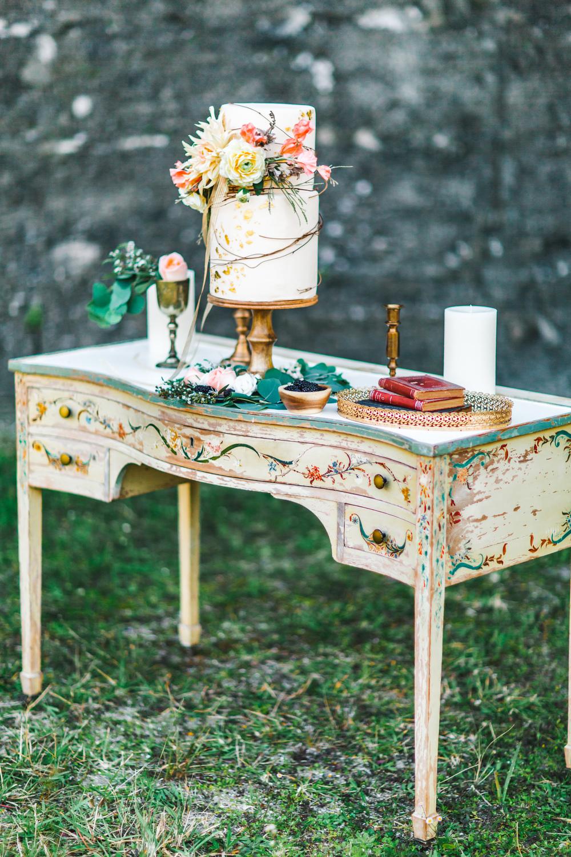 St. Augustine fine art wedding castillo de san marco floral wedding photographer shaina deciryan 62.jpg