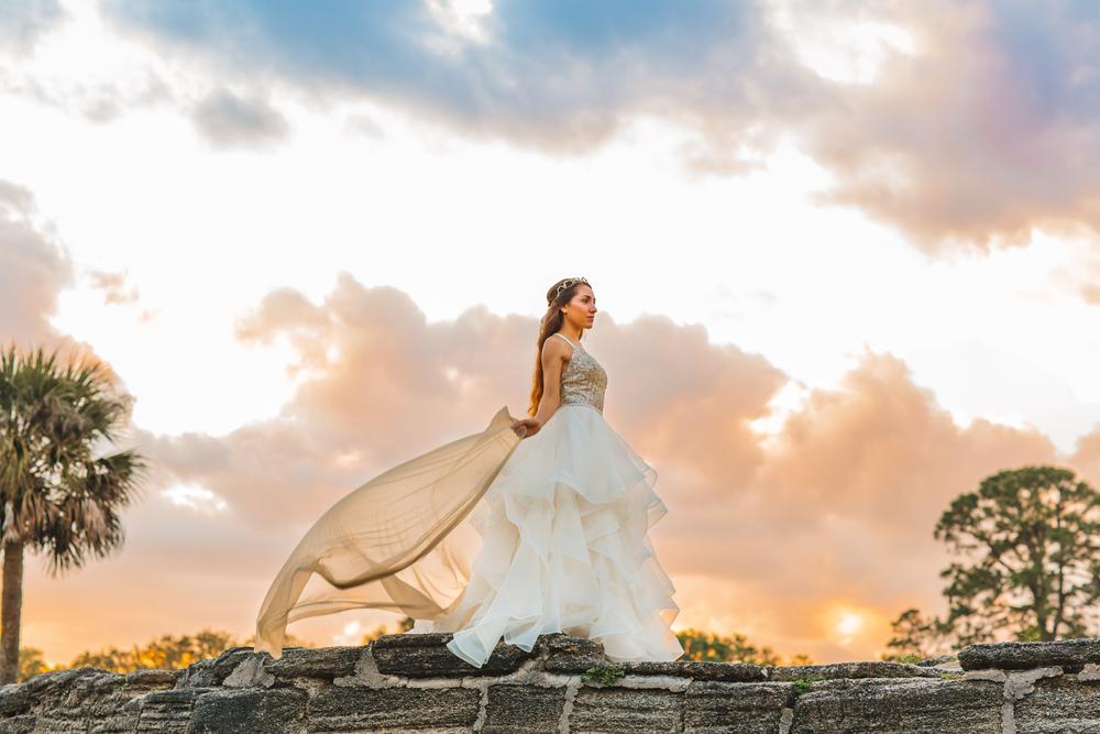 St. Augustine fine art wedding castillo de san marco floral wedding photographer shaina deciryan 88.jpg