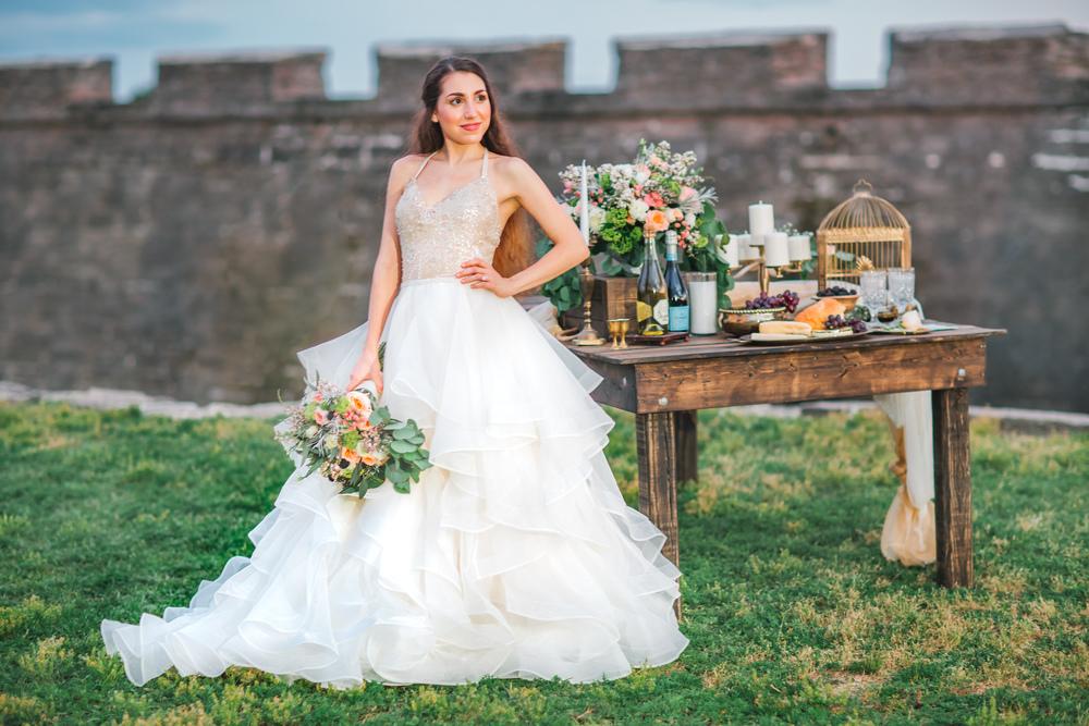 St. Augustine fine art wedding castillo de san marco floral wedding photographer shaina deciryan 120.jpg