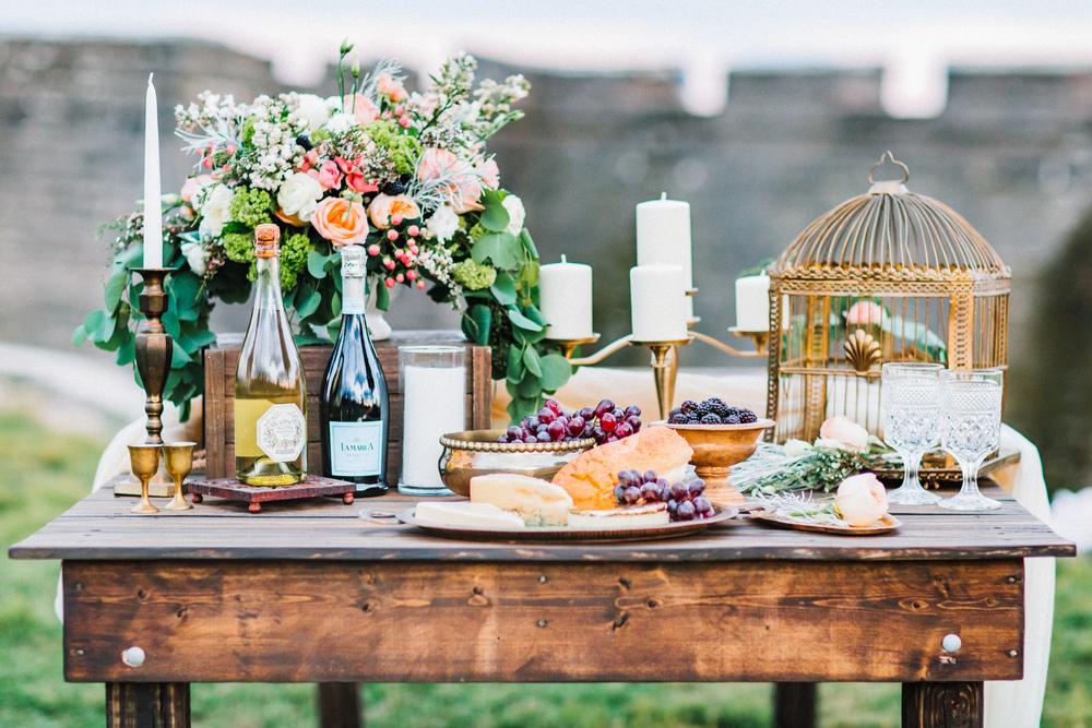 St. Augustine fine art wedding castillo de san marco floral wedding photographer shaina deciryan 122.jpg