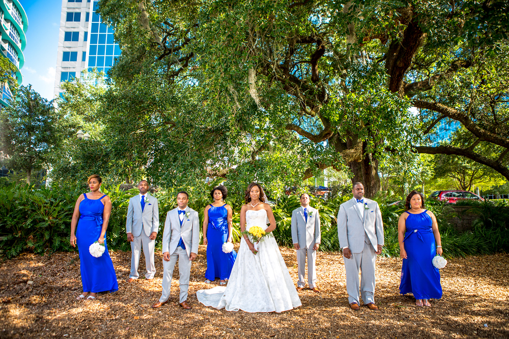 Lake Eola Wedding // Orlando, Florida
