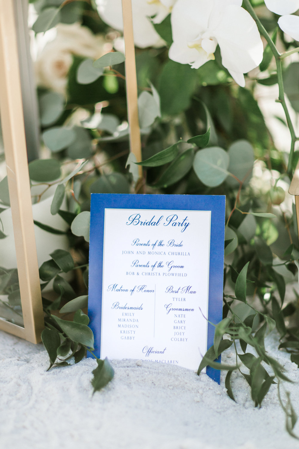 Longboat Key Club wedding ceremony aisle by Victoria Blooms