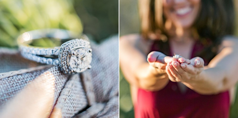 Magical sunset engagement photos at Wekiva Springs State Park in Orlando, Florida | Shainadeciryan.com