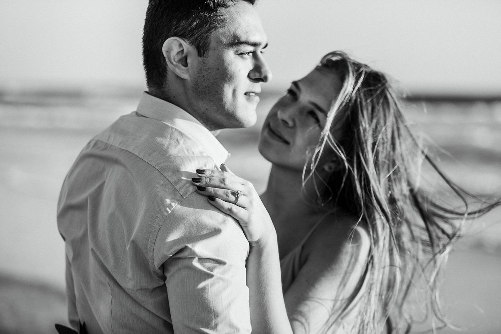 Elya + Andres - Cocoa Beach Engagement - boho bride organic eucalpytus crown mermaid forest8.jpg