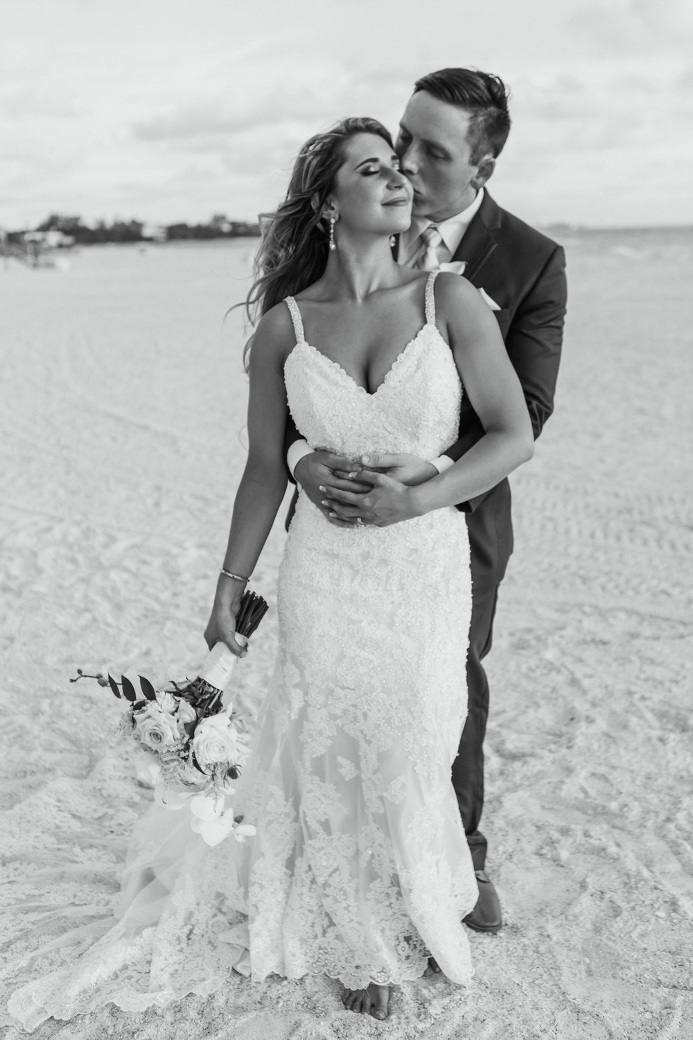 2. Bride+Groom - Brett + Bobby Longboat Key Beach Wedding 29.jpg