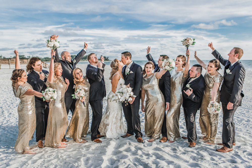 4. Bridal Party - Brett + Bobby Longboat Key Beach Wedding 35.jpg