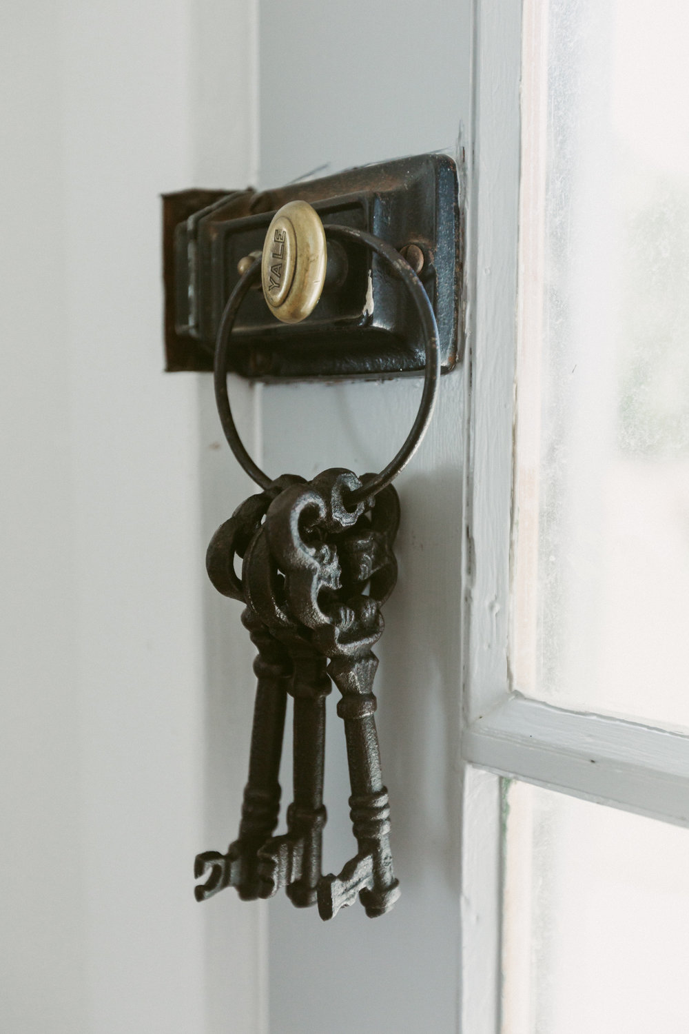historic schoolhouse keys