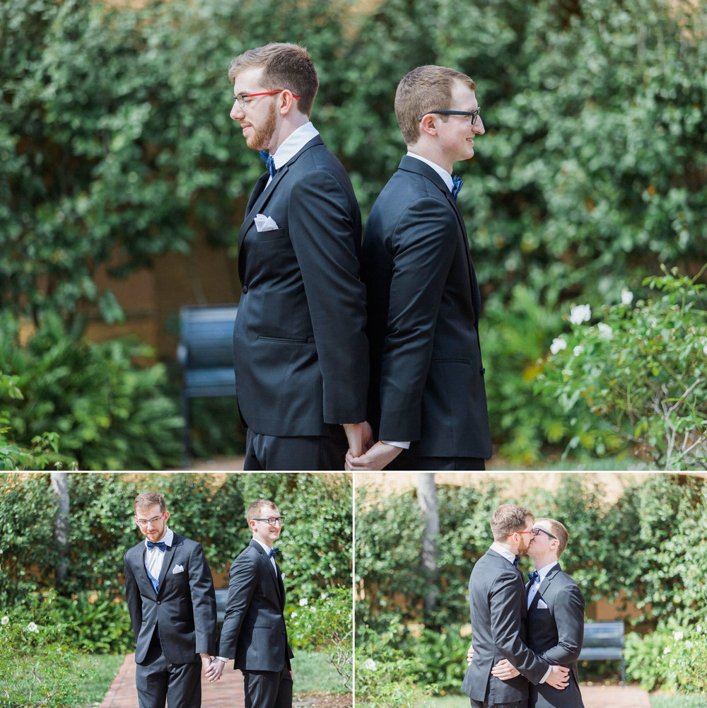 Rollins Chapel + Orlando Science Center Gay LGBT Dinosaur Themed Wedding Adam + Craig 14.jpg