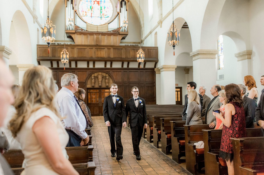Rollins Chapel + Orlando Science Center Gay LGBT Dinosaur Themed Wedding Adam + Craig 18.jpg