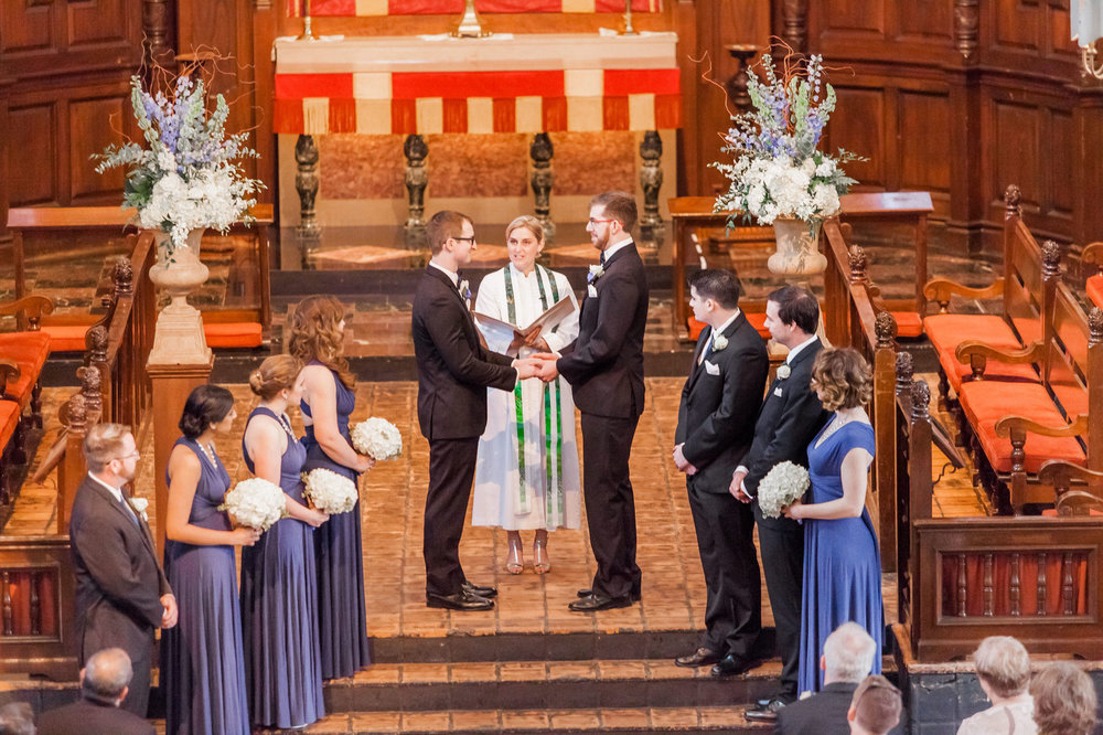 Rollins Chapel + Orlando Science Center Gay LGBT Dinosaur Themed Wedding Adam + Craig 20.jpg
