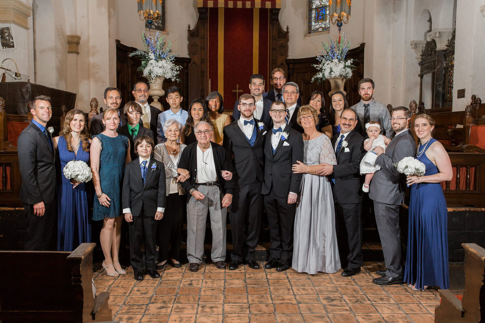 Rollins Chapel + Orlando Science Center Gay LGBT Dinosaur Themed Wedding Adam + Craig 27.jpg
