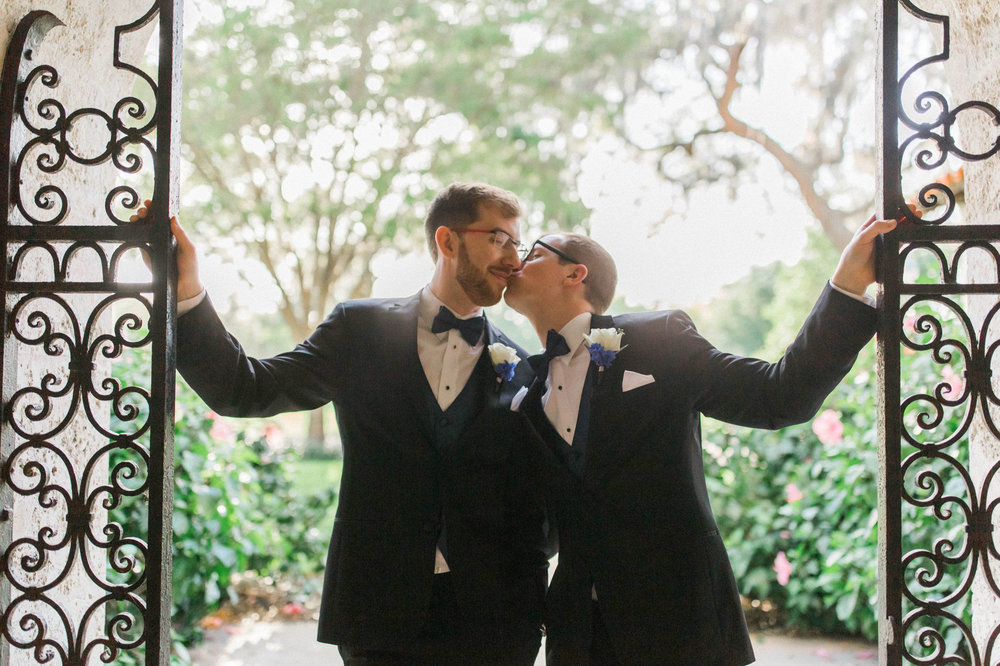 Rollins Chapel + Orlando Science Center Gay LGBT Dinosaur Themed Wedding Adam + Craig 32.jpg