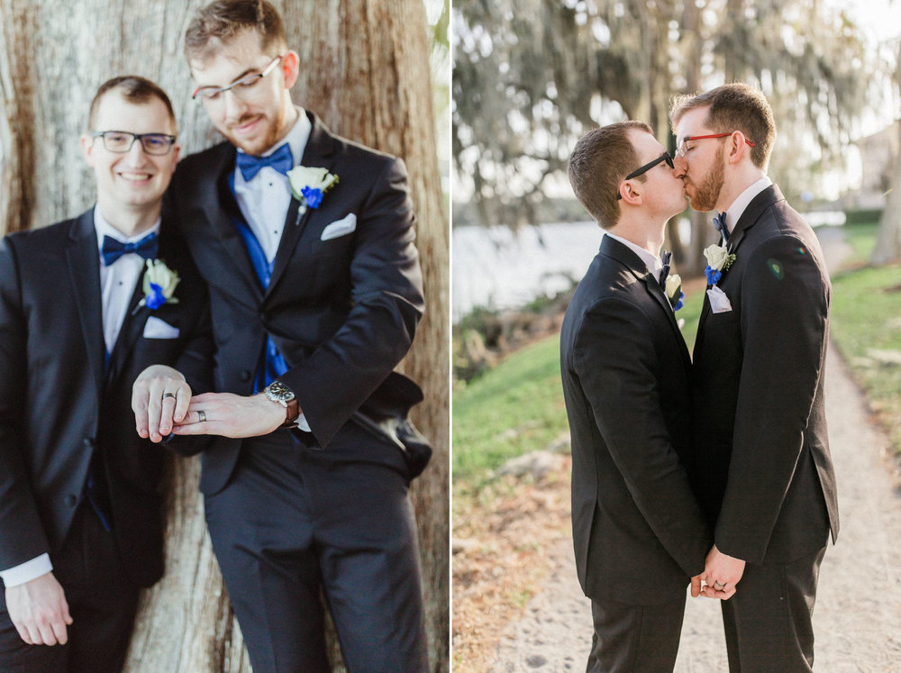 Rollins Chapel + Orlando Science Center Gay LGBT Dinosaur Themed Wedding Adam + Craig 36.jpg