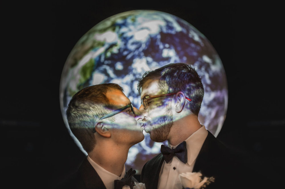 Rollins Chapel + Orlando Science Center Gay LGBT Dinosaur Themed Wedding Adam + Craig 47.jpg