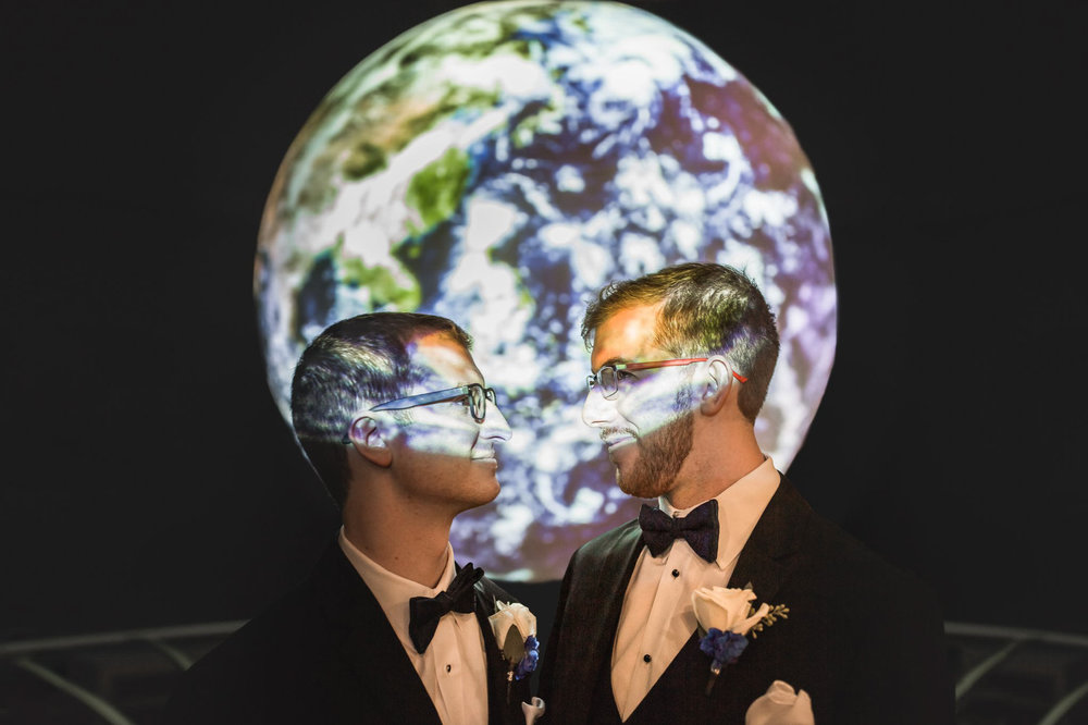 Rollins Chapel + Orlando Science Center Gay LGBT Dinosaur Themed Wedding Adam + Craig 49.jpg