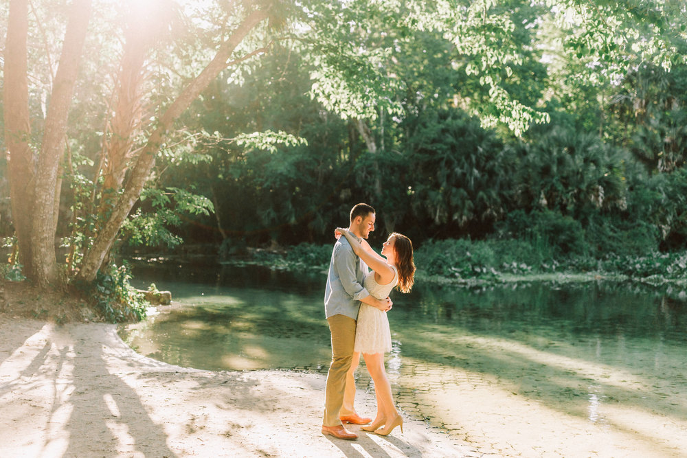 Orlando Engagement session at Wekiva Springs State Park nature-Anthony + Christine 2.jpg