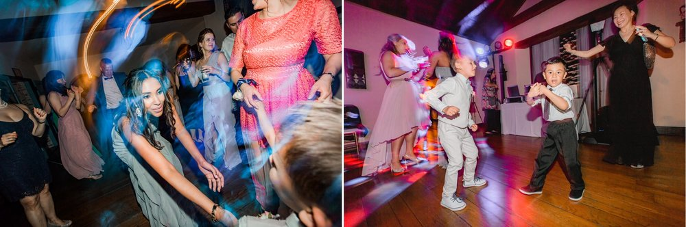 Casa Feliz wedding dance party with Atomic Entertainment