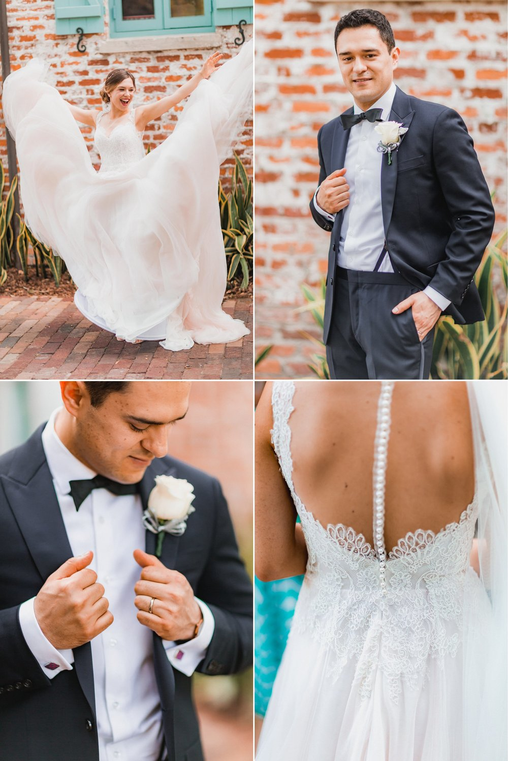 Boho Chic Blush Gold Wedding at Casa Feliz Winter Park -Andres + Elya 170.jpg