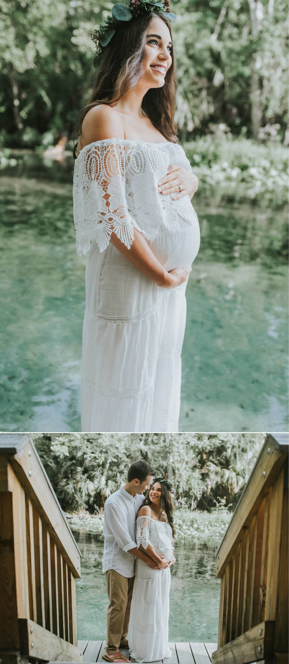Wekiwa Springs Boho DIY Succulent Flower Crown Maternity Photos-Julie+Robby 6.jpg