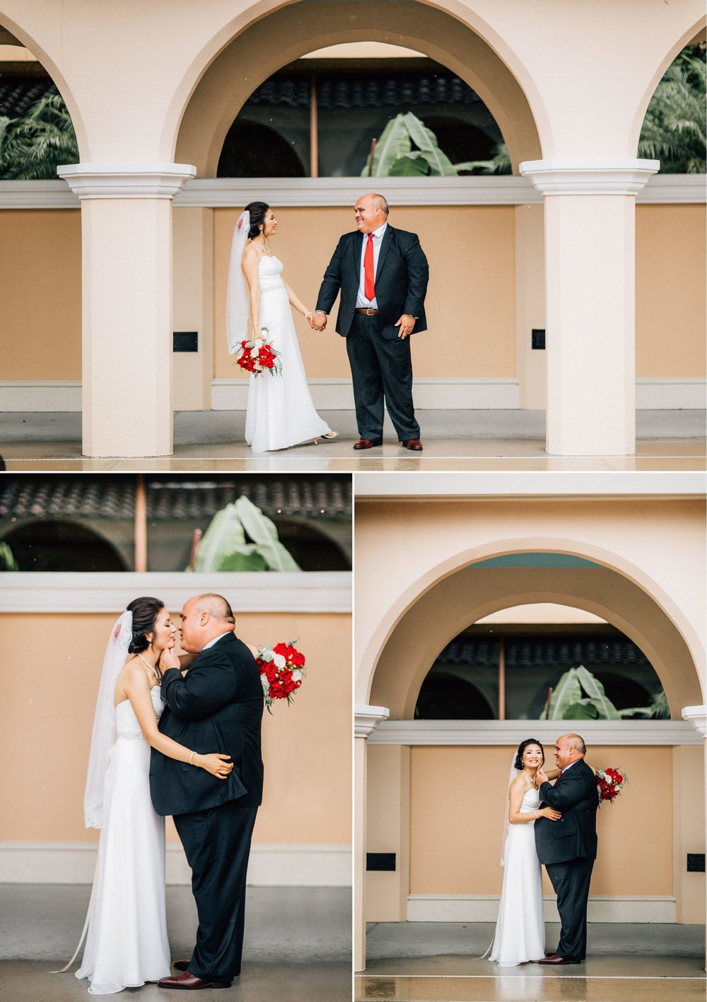 Lakehouse Lake Nona Wedding- Modern Colorful Red Multicultural- Susan + Manolo 15.jpg