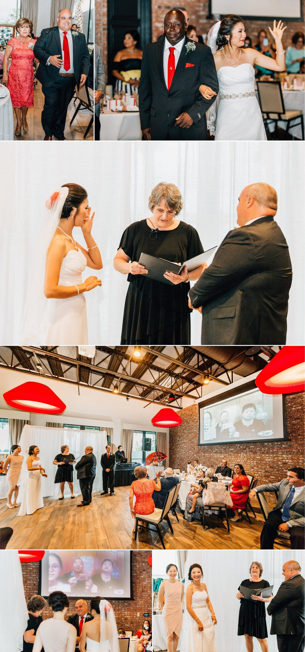 Lakehouse Lake Nona Wedding- Modern Colorful Red Multicultural- Susan + Manolo 23.jpg