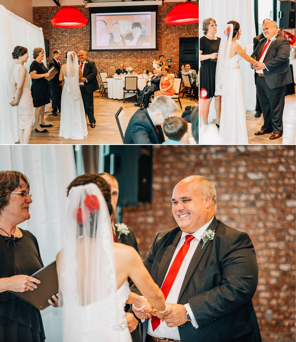 Lakehouse Lake Nona Wedding- Modern Colorful Red Multicultural- Susan + Manolo 25.jpg