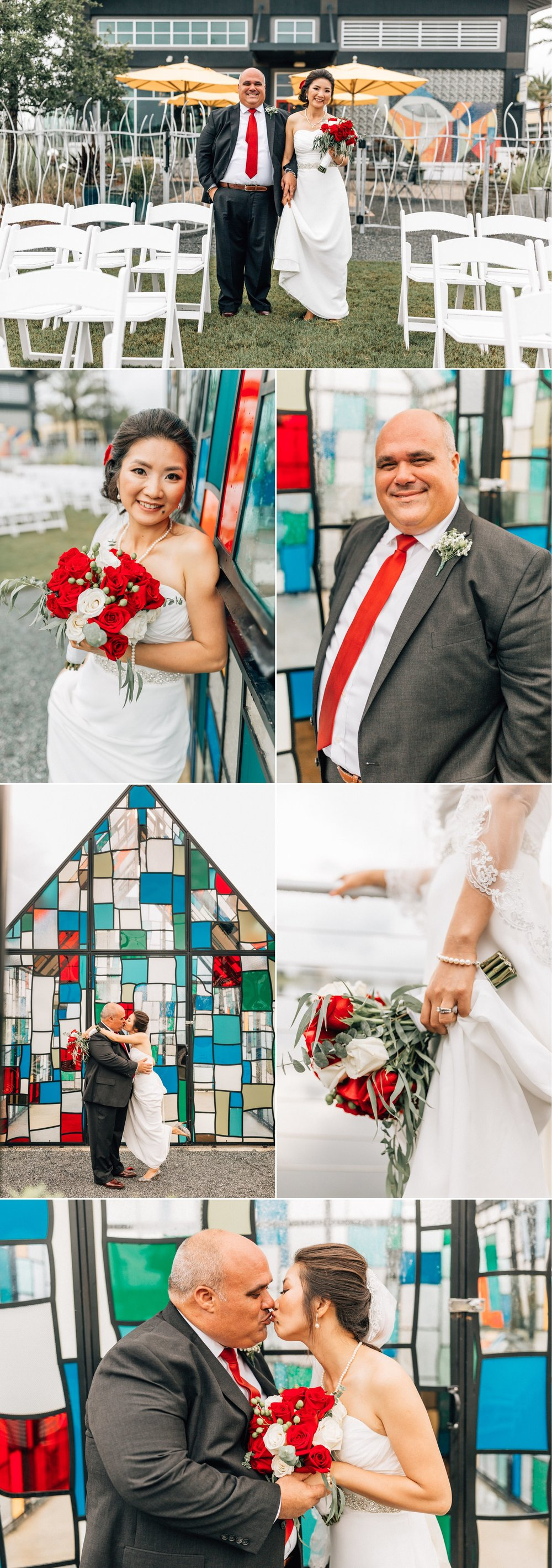 Lakehouse Lake Nona Wedding- Modern Colorful Red Multicultural- Susan + Manolo 31.jpg