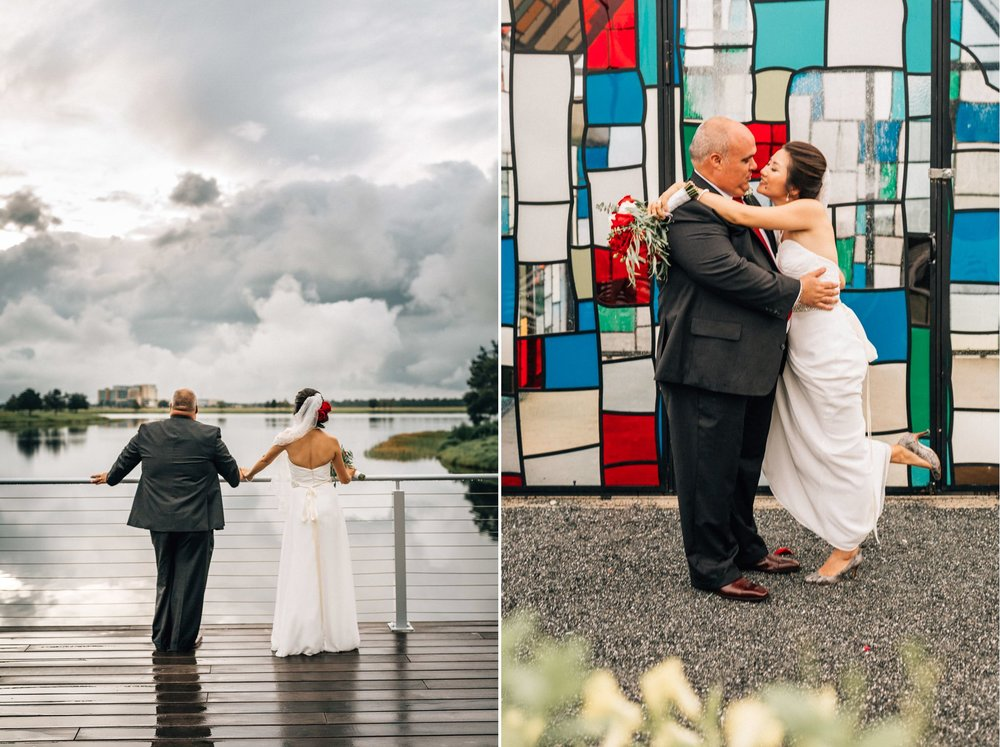 Lakehouse Lake Nona Wedding- Modern Colorful Red Multicultural- Susan + Manolo 35.jpg